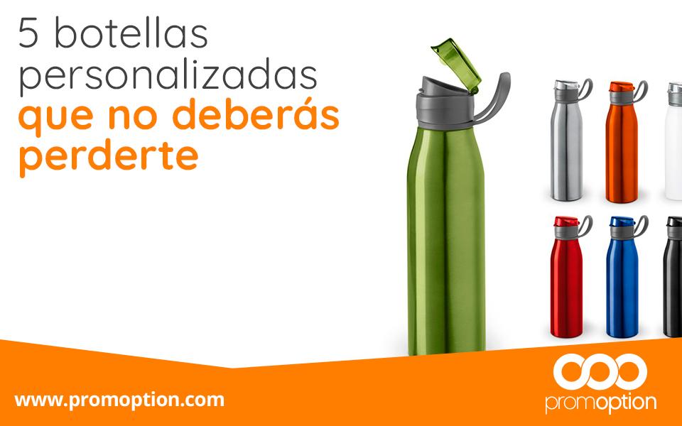 Botellas reutilizables personalizadas