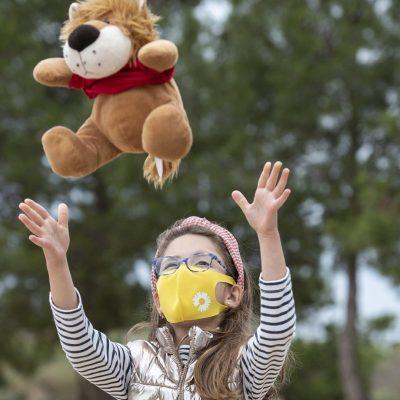 máscara para niños