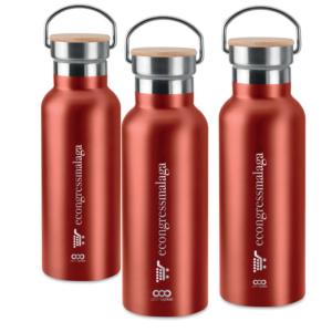 botellas personalizadas de acero