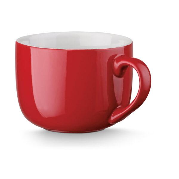 bol personalizado de color rojo