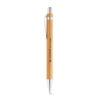 bolígrafo de madera de color gris