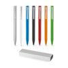 Bolígrafos personalizados de aluminio de colores