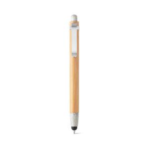 bolígrafo de madera de color blanco