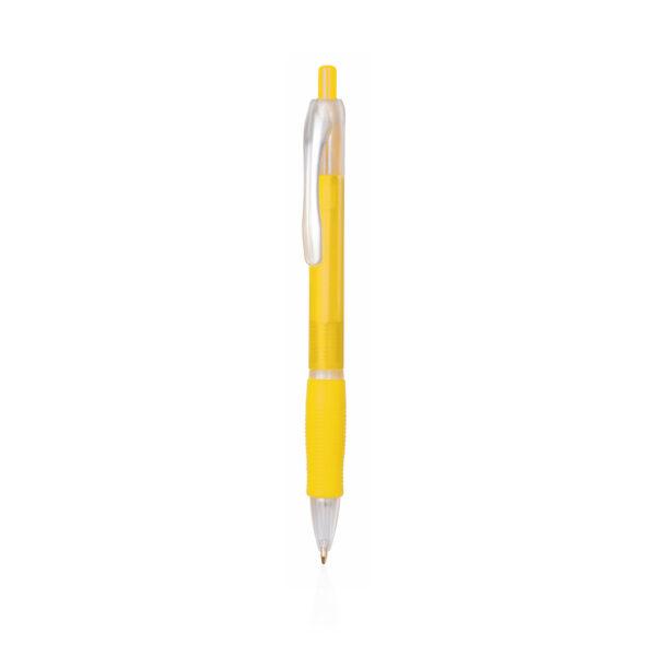 Bolígrafo personalizado de color amarillo