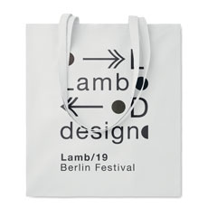bolsa de diseño de algodón blanca