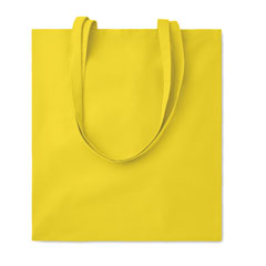 Bolsa de algodón amarilla