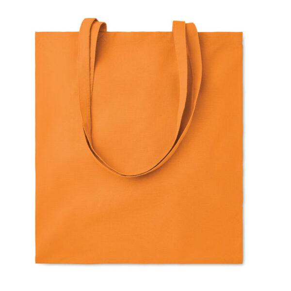 Bolsa de algodón naranja