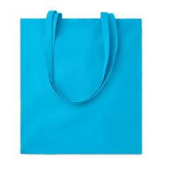 Bolsa de algodón azul clara