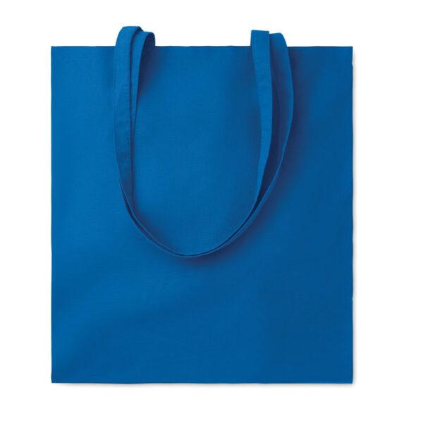 Bolsa de algodón azul