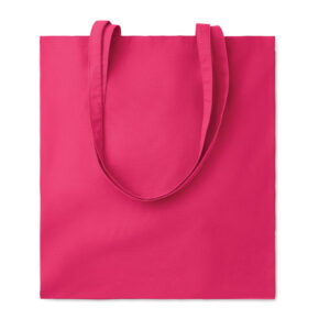 Bolsa de algodón rosa