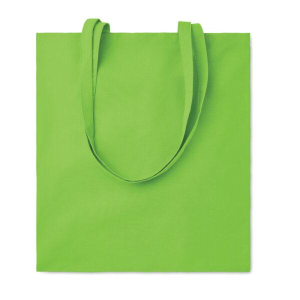 Bolsa de algodón verde