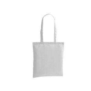 bolsa de tela de color blanco