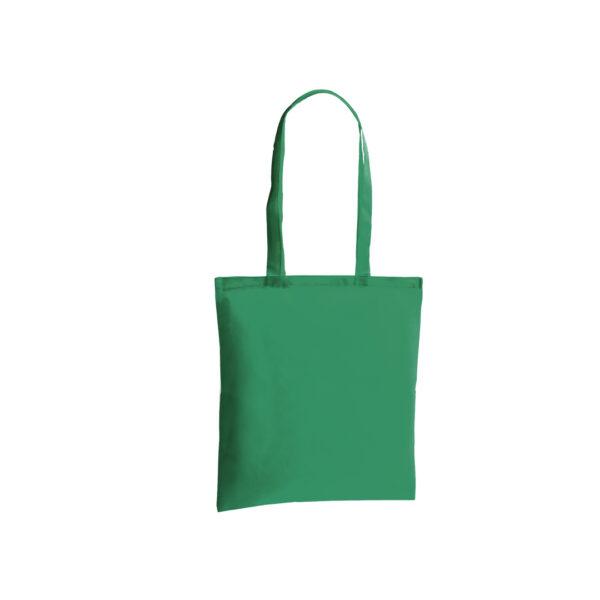 bolsa de tela de color verde