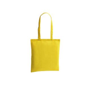 bolsa de tela de color amarilla