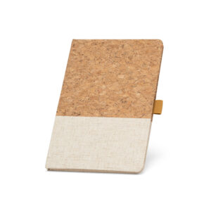 Cuaderno personalizado de corcho y color beige