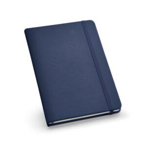 Cuaderno personalizado de color azul