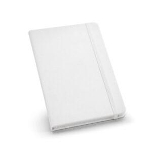 Cuaderno personalizado de color blanco