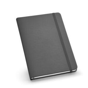 Cuaderno personalizado de color gris