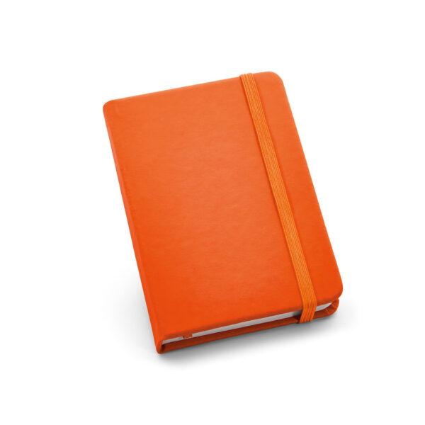 Cuaderno personalizado de color naranja
