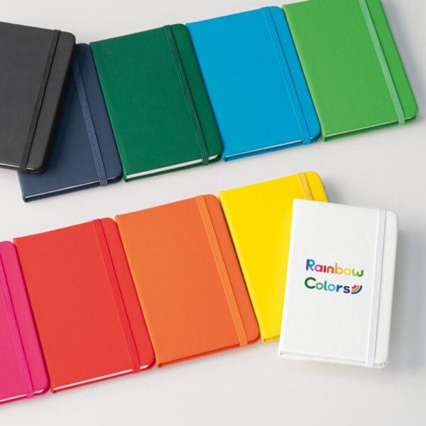 Cuaderno personalizado de colores
