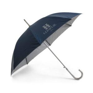 paraguas azul personalizado