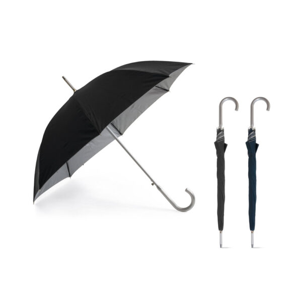 Paraguas negro personalizado