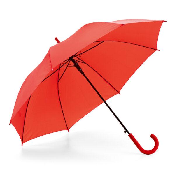 Paraguas personalizado rojo