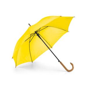Paraguas personalizado de color amarillo