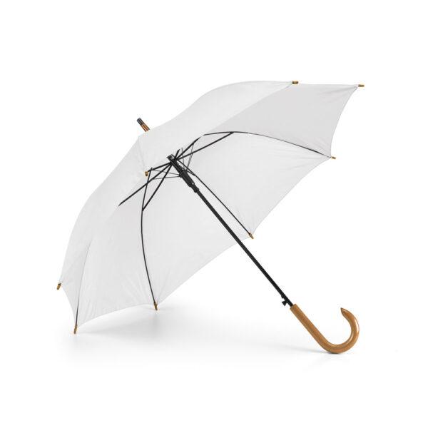 Paraguas personalizado de color blanco