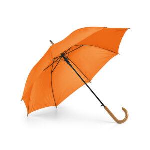 Paraguas personalizado de color naranja