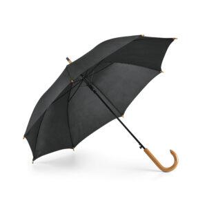 Paraguas personalizado de color negro