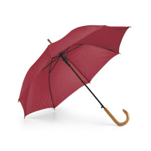 Paraguas personalizado de color granate