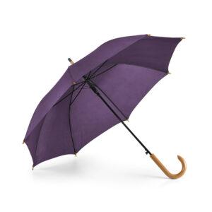 Paraguas personalizado de color morado