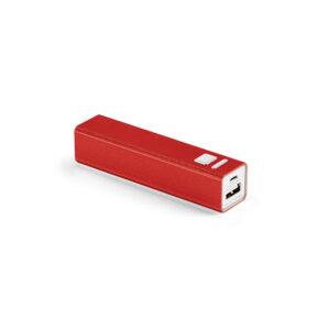 Power Bank personalizado pequeña rojo