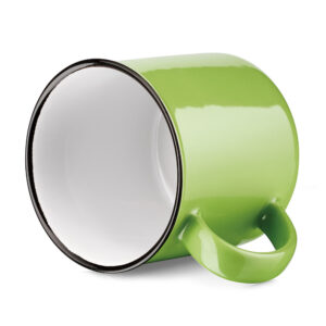 Tazas clásicas de color verde