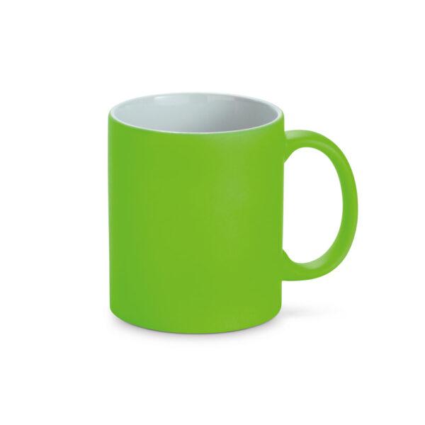 taza de color verde