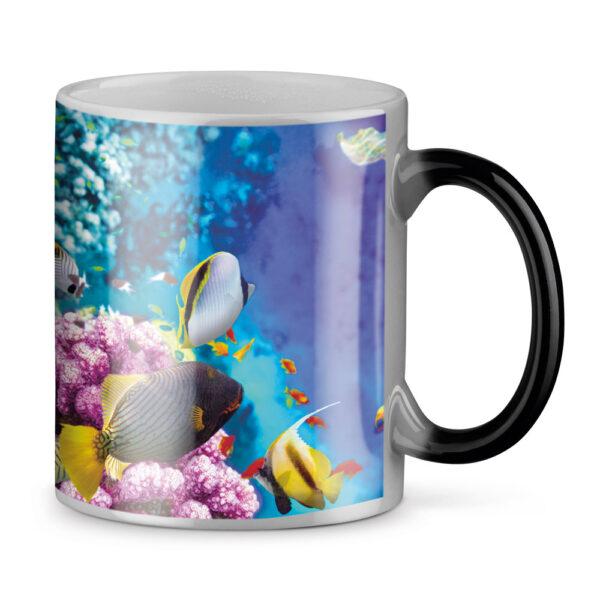 taza de cerámica termosensible