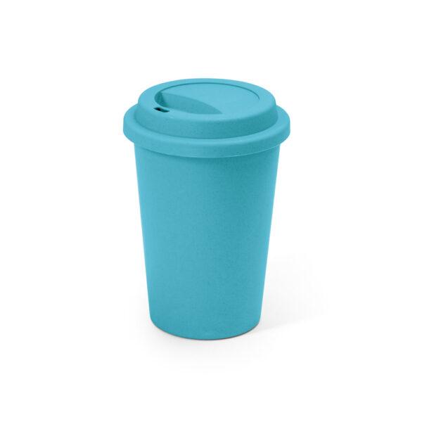 taza de viaje personalizada de color azul