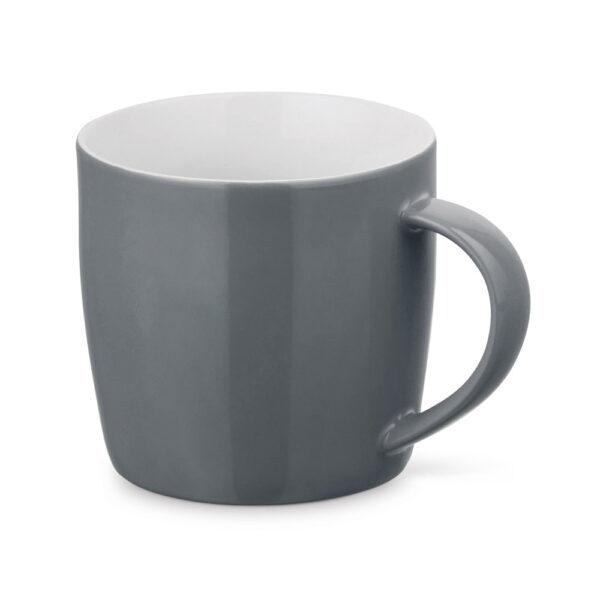 Taza personalizada baja de color gris