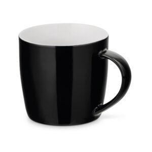 Taza personalizada baja de color negro