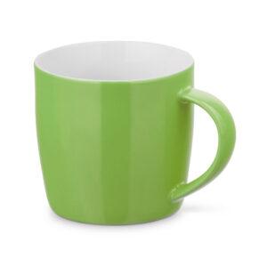 Taza personalizada baja de color verde