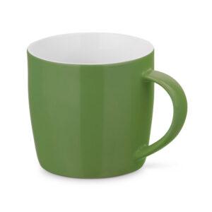 Taza personalizada baja de color verde oscuro