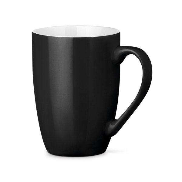 Tazas de cerámica de color negro