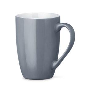 Tazas de cerámica de color gris