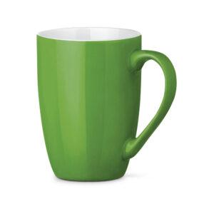 Tazas de cerámica de color verde