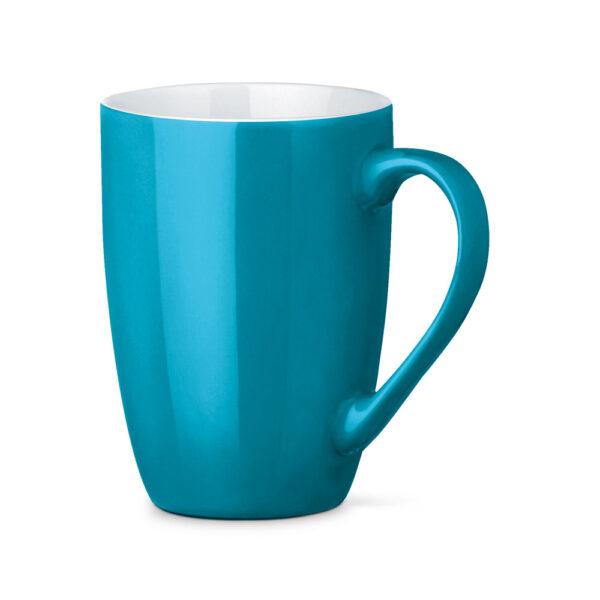 Tazas de cerámica de color azul claro