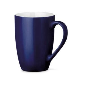Tazas de cerámica de color azul oscuro