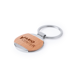 llavero-personalizado-madera-metal-logo