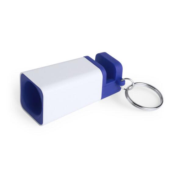 llavero-personalizado-altavoz-azul