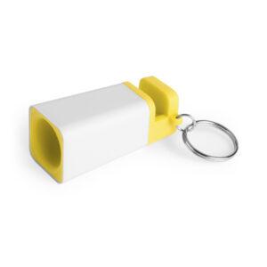 llavero-personalizado-altavoz-amarillo